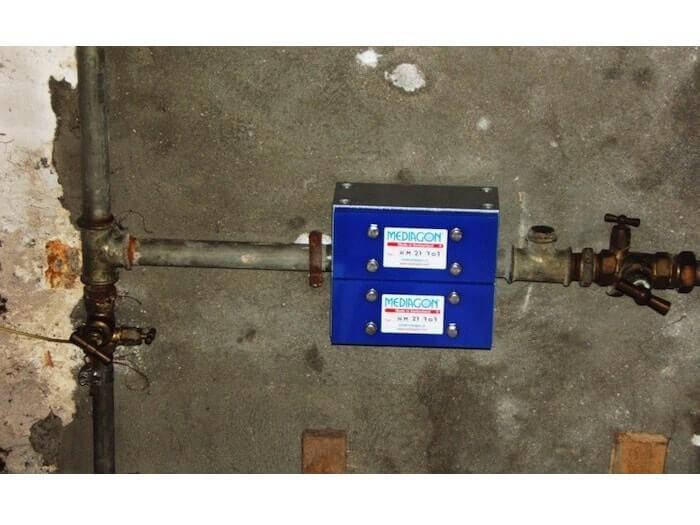 Conduite d'eau en acier galvanisé